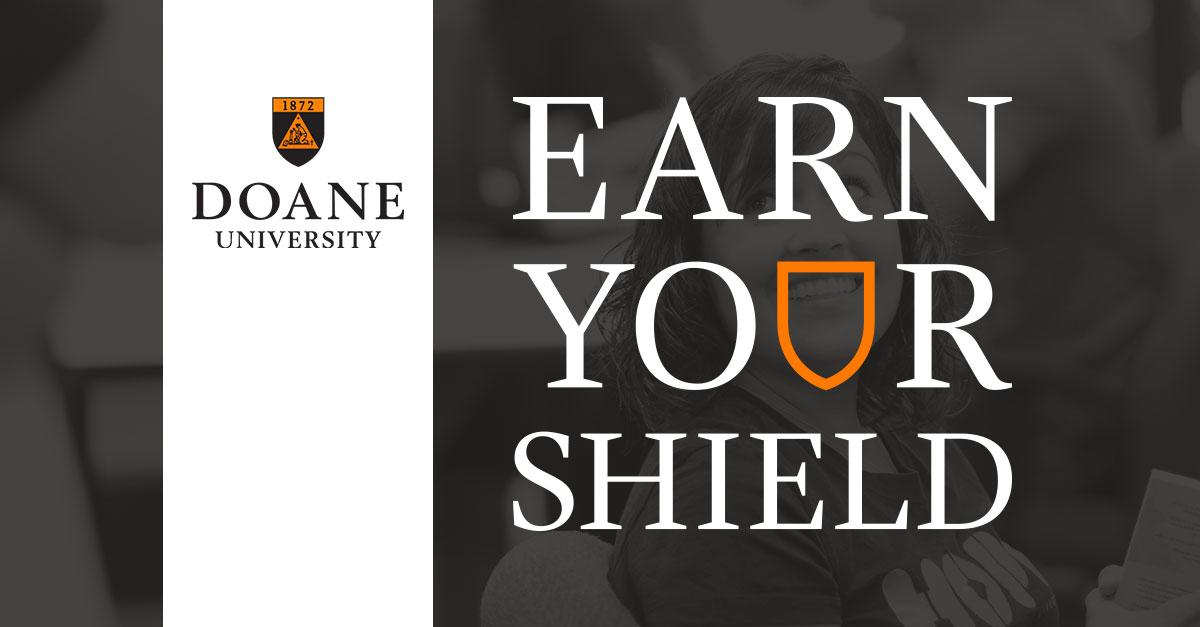 Doane University Lincoln - Earn Your Shield